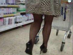 Seamed stockings 20