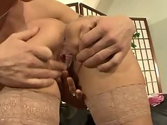 Hot German Mom Fucking On The Couch