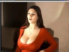 The Perfect Amateur Webcam Tease