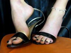 Sexy feet shoes
