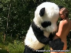 Wild sex to award a hero panda