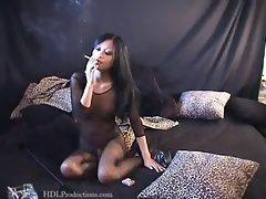 Kina Kai - Smoking Fetish at Dragginladies