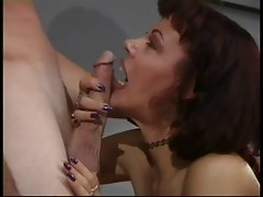 Classic Mature Rubee Tuesday Office Sex
