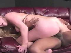 REAL BLONDE ESTELLE GOT HER HAIRY PIN PUSSY CREAM PIE BY BBC