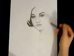 SASHA GREY PENCIL DRAWING