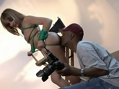 Lexi Love squirting with BBC