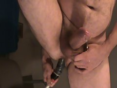 prostate milking and cum