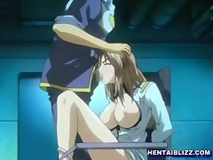 Bondage hentai schoolgirl with bigboobs oralsex and swallowing cum