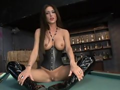 Ho Jessica Jaymes has herself taken hard and fast on a table