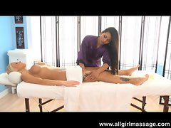 Lana Violet Massages a Country Girl