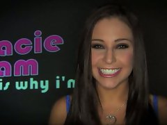 Who is the best in handling hungry cocks ? Gracie Glam claims while explaining