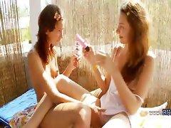 lithuanian babes Vika and Natasha