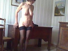 strip tease at home, deshabillage maison