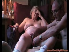 Seductive mom shagging her hubby - CheckMyMILF.com