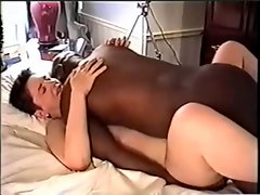 Romantic White & Ebony Love
