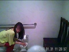 Korean Bathroom cam 4