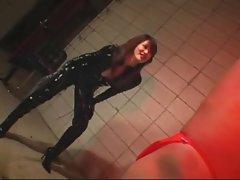 Natsuki lewd whipping