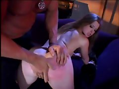 Filthy Redhead Gets Banged And Swallows In The End