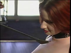 Little tiny breasts wench submitting to the whims of her asian mistress