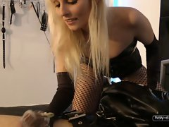 A SADISTIC RELEASE FROM  WEEKS IN CHASTITY (Part1)