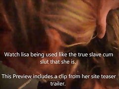 slave lisa dvd and site teaser