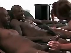 Pleasing Two Black Men