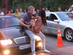 Crazy Russian Stripper