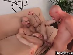Hot BF gets his ass fucked on couch part4