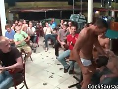 Large group of horny dudes go crazy part6