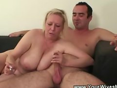 Horny smoking mature sex
