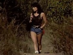Brunette Gangbanged in the Woods