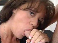 Sexy mature cougar DeBella banging