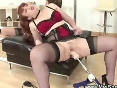 Mature sluts fucked with sex machine