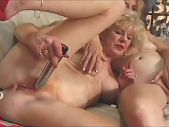 Kathy and Emerson - lesbian grannies
