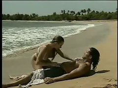 Classic Porn-Star Anal on the beach
