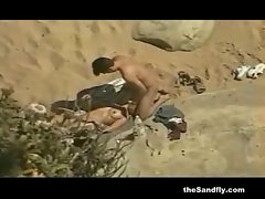 theSandfly Amateur Beach Super Sex!
