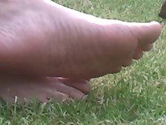 my aunts feet