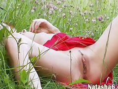 natasha back to nature with her hole