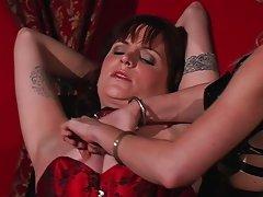 Beautiful girl tortured for her pleasure