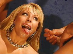 Lovette in a gangbang after foto session
