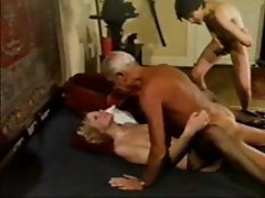 Older Man ....Grand Dad  Jean Villroy Shagging Hot Babe