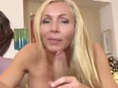 Blonde cougar on the prowl for hard cock action