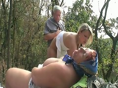 Kinky teen gets paid with old dick.