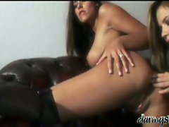 Lesbian lovers hot ass plugging