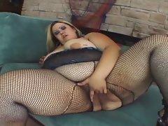 Amateur sex movie with a bbw slut