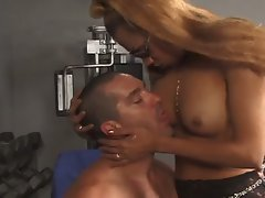 Miss shemale america loves an anal