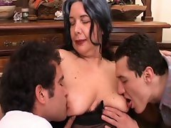 Fucking at 50 is hot action for mature brunette