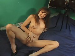 Horny milf loves to play with cock