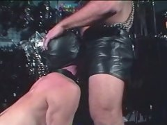 Leather fantasies who loves fucking big hard ones