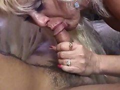Hot blonde milf can't choose between cocks or dildos